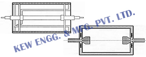 Double Jacketed Cooling Roll