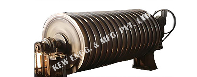 Cooling Drum for Textile and Paper Industry